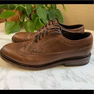 Frye Oxford - Brown Leather
